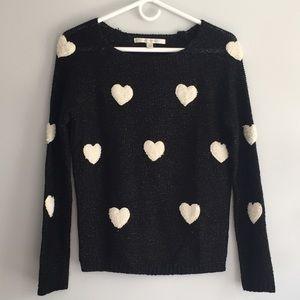Heart sweater!